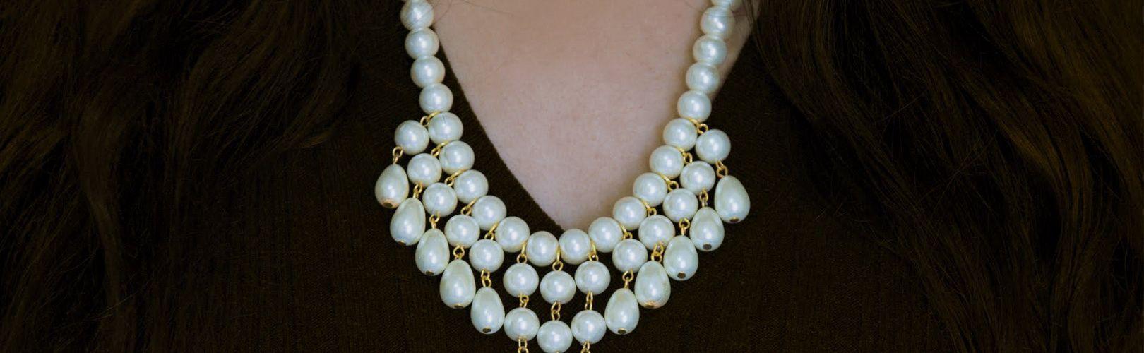 Ожерелье из жемчуга - символ женской элегантности