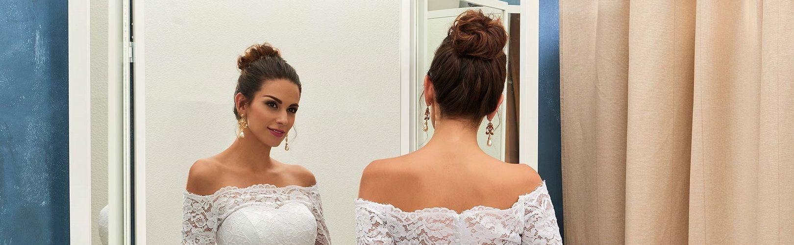 Стильные украшения к свадебному платью