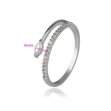 Кольцо с цирконами арт. ff406700-ZZ3404