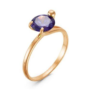 Кольцо с фианитом арт. 2381137p1