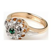 Кольцо с кристаллами Swarovski - Jenavi