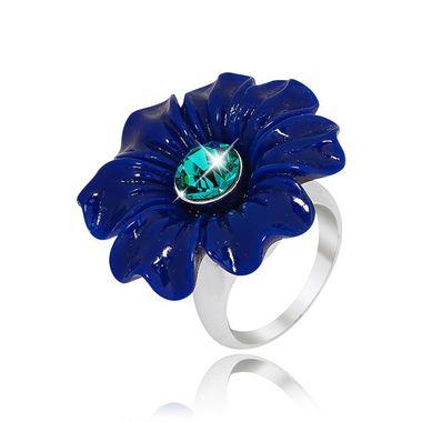 Кольцо цветок с вставкой из акрила арт. 453885-995299