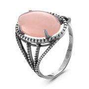 Кольцо с розовым кварцем - Красная Пресня