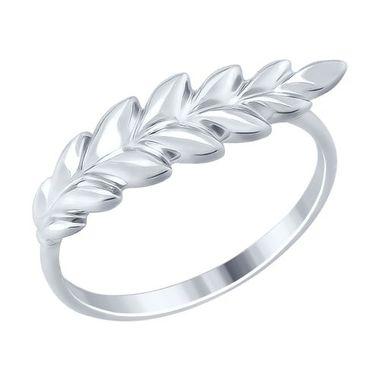 Кольцо «Цветок» из серебра с золочением арт. 94012481