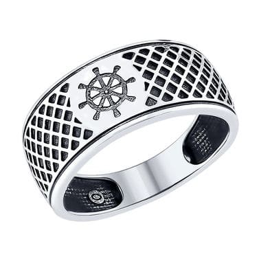Серебряное кольцо  «Штурвал» арт. 95010094