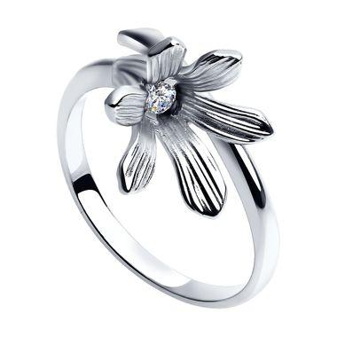 Серебряное кольцо «Колокольчик» арт. 94012276