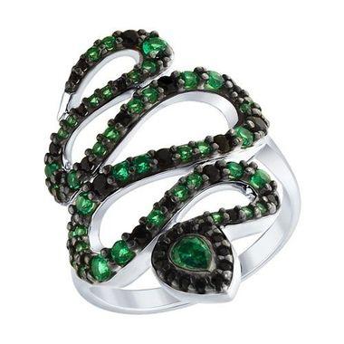 Кольцо «Змея» из серебра арт. 94012581
