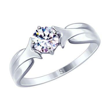 Кольцо из серебра с фианитом арт. 94012626