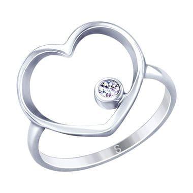 Кольцо SOKOLOV сердце арт. 94012790