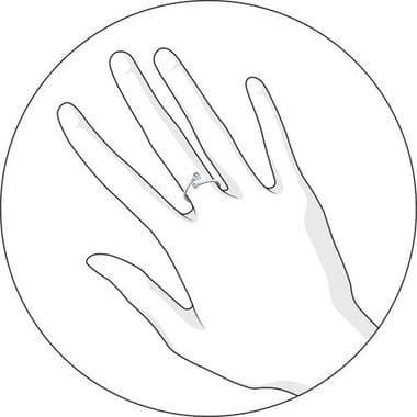 Кольцо SOKOLOV с двумя фианитами