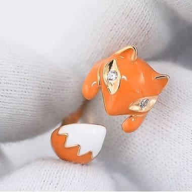 Кольцо SOKOLOV «Лиса» 93010511