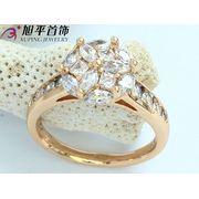 Кольцо позолоченное - Xuping