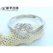 Кольцо родированное - Xuping