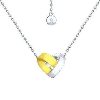Колье «Сердце» из серебра арт. 94070113