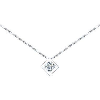 Колье из серебра с фианитом арт. 94070056