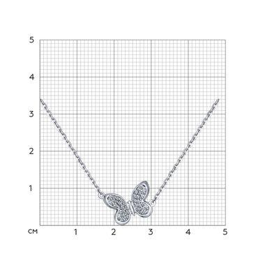 Колье из серебра с фианитами арт. 94070100