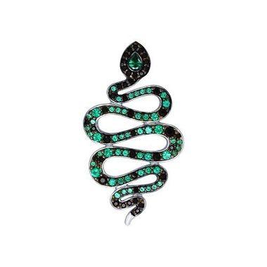 Подвеска «Змея» из серебра арт. 94031930