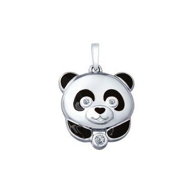 Серебряная подвеска «Панда» арт. 94032001