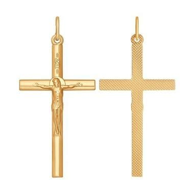 Крестик серебряный SOKOLOV арт. 93120034