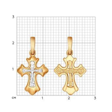 Крест SOKOLOV из серебра арт. 93120039