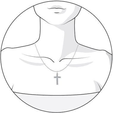 Крест серебряный SOKOLOV арт. 94031254
