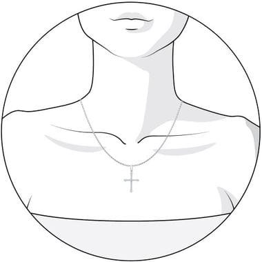 Крест серебряный SOKOLOV арт. 94031379