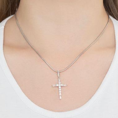 Крест серебряный SOKOLOV арт. 94031380