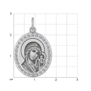 Подвеска SOKOLOV икона божьей матери арт. 94100214