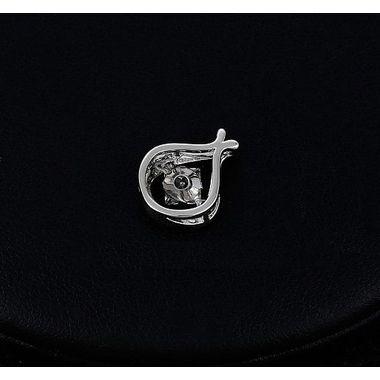 Подвеска родированная с кристаллом арт. 4ff281001-ZZ2205