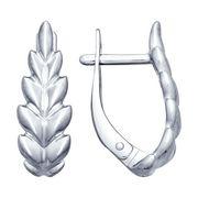 Серьги из серебра «Колос» - SOKOLOV