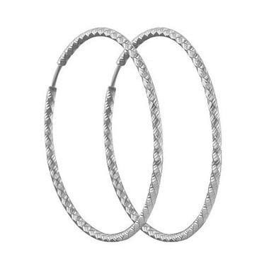 Серьги конго из серебра арт. 94140032